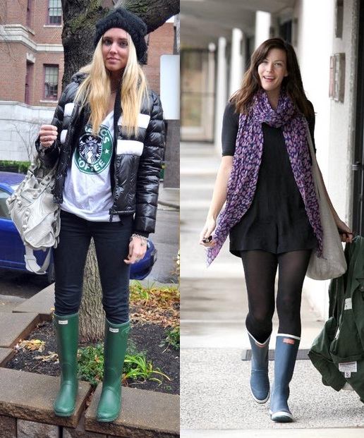 LOOKS CON BOTAS DE AGUA | THE FASHION SITE