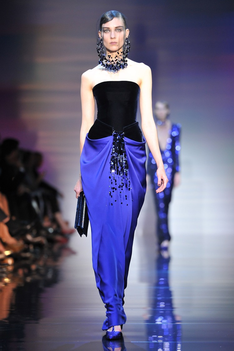 Giorgio Armani Prive: Runway - Paris Fashion Week Haute Couture F/W 2012/13