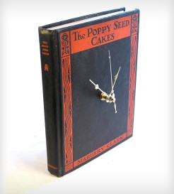 CLOCK INTO A BOOK