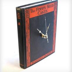 CLOCK INTO A BOOK
